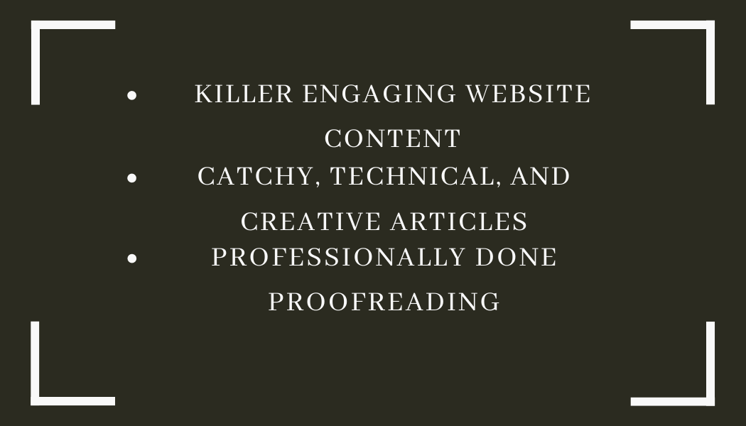 Professional Catchy Articles on any subject with PR