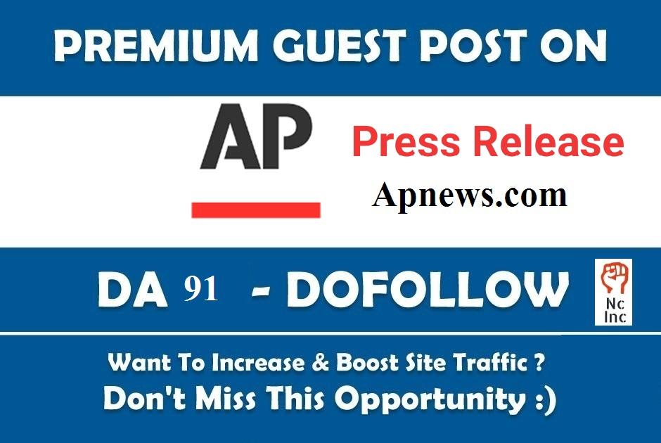 Guest Post in Apnews. com Press Release