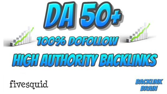I will do 50 pr9, edu with high trust authority safe link building seo profile backlinks