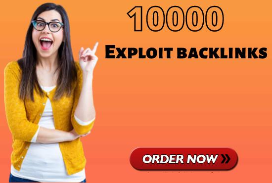 create high quality exploit backlinks