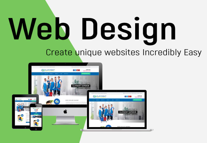 design a professional and responsive website design