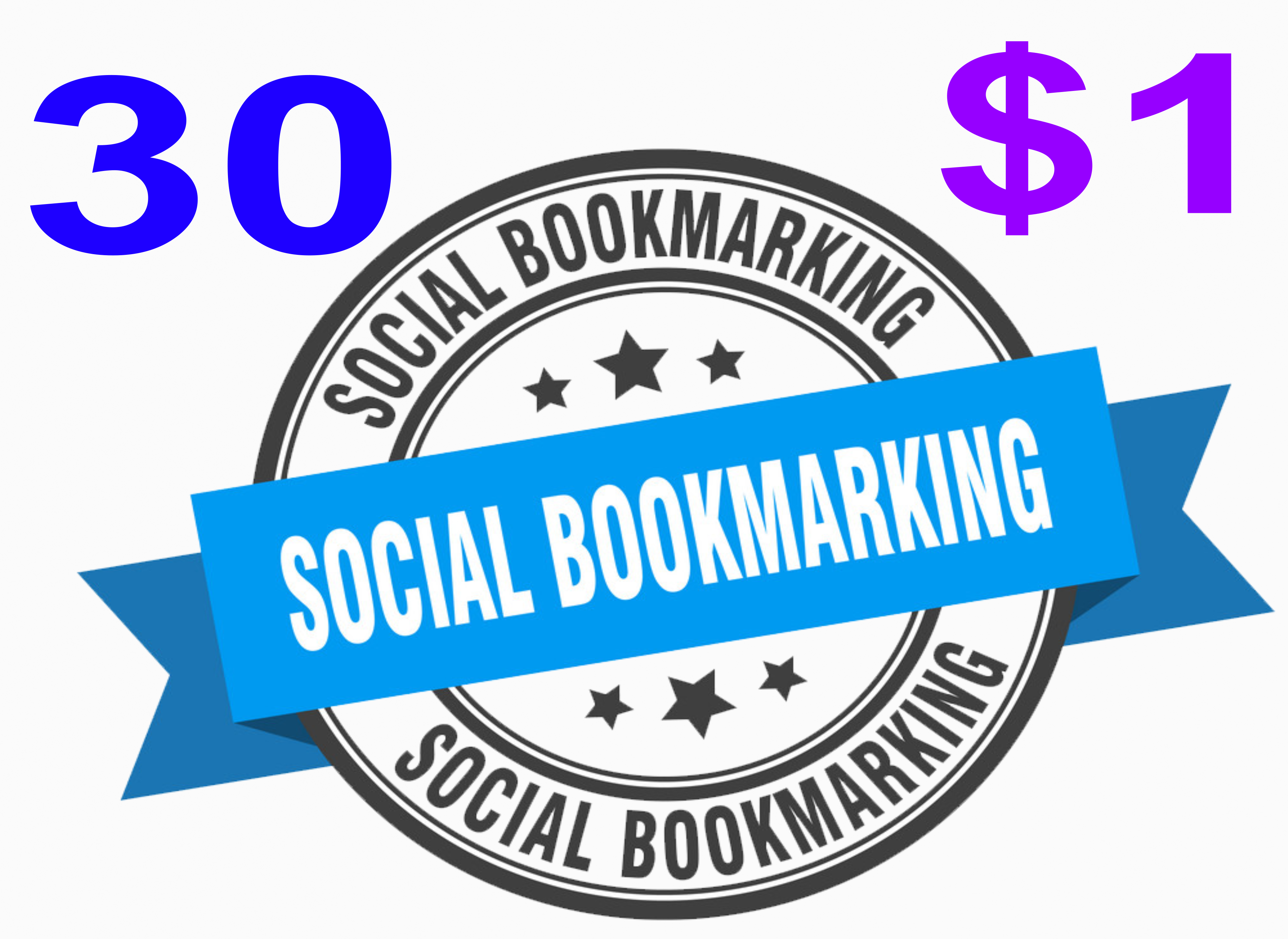 i Will Do Manually Top 30 High Authority Social Bookmarking