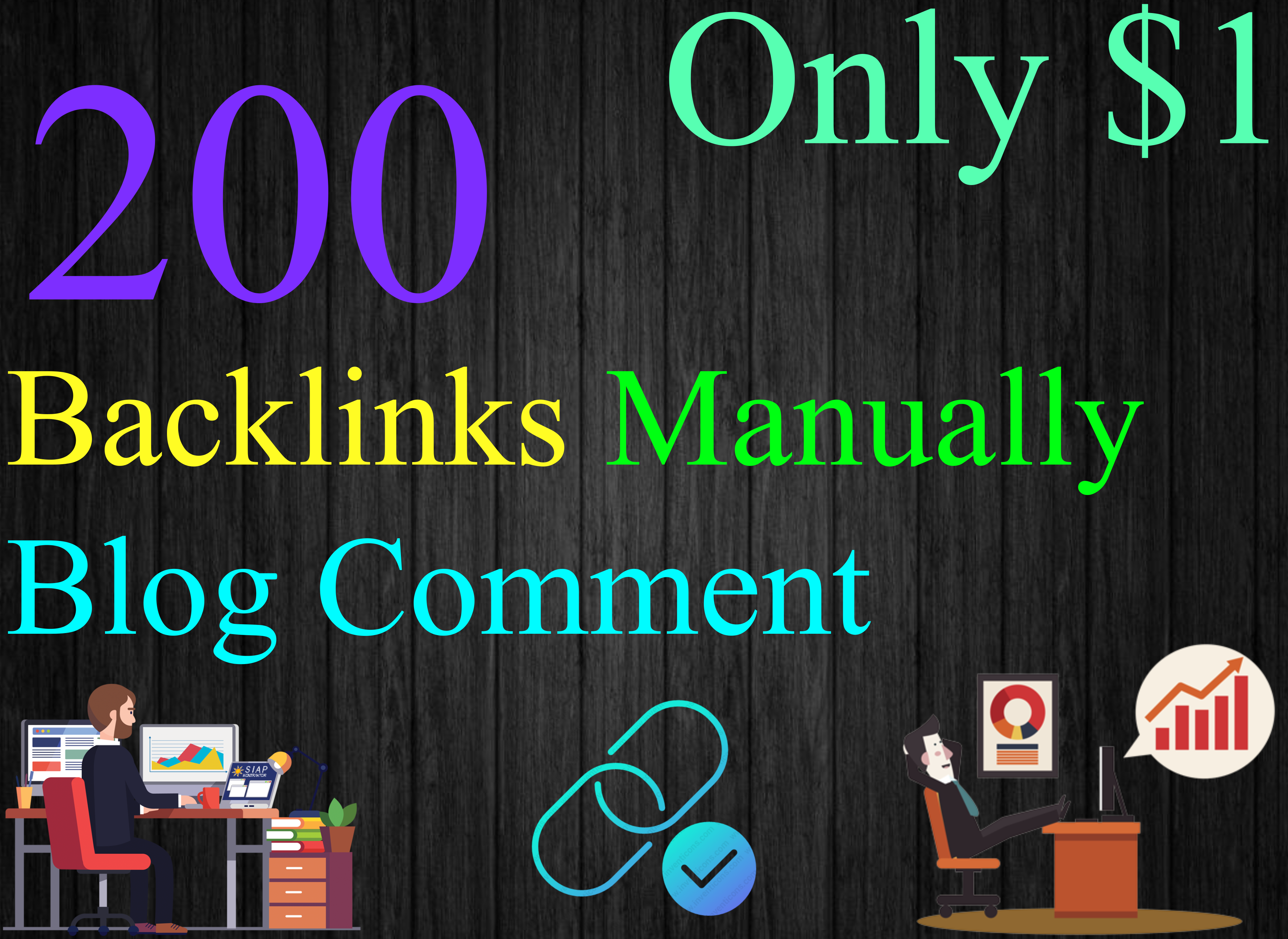 i Will Manually High DA PA 200 Dofollow Backlinks