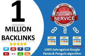 I Will build 1 Million Dofollow backlinks for website boost ranking on google