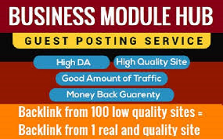 Write and publish guest post on popular authority site businessmodulehub. com