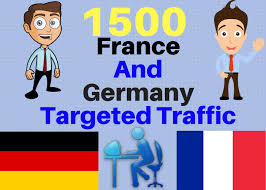 Drive Targeted traffic FRANCE & GERMANY to yur site blog or product