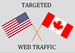 Drive unlimited traffic CANADA & USA to your site blog or product