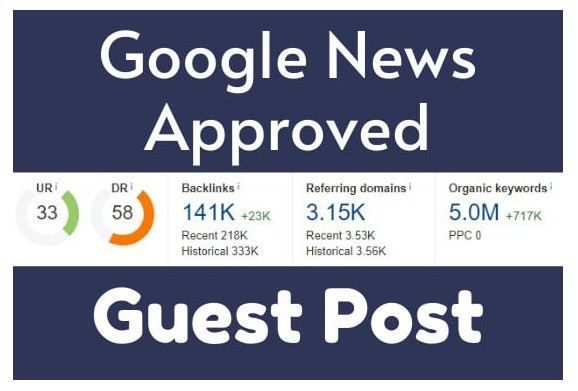 write and publish your article on GOOGLE NEWS APPROVED website