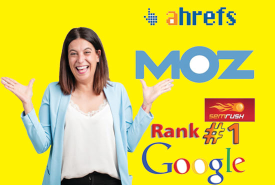 I will give you semrush ahrefs moz SEO report for the competitor analysis