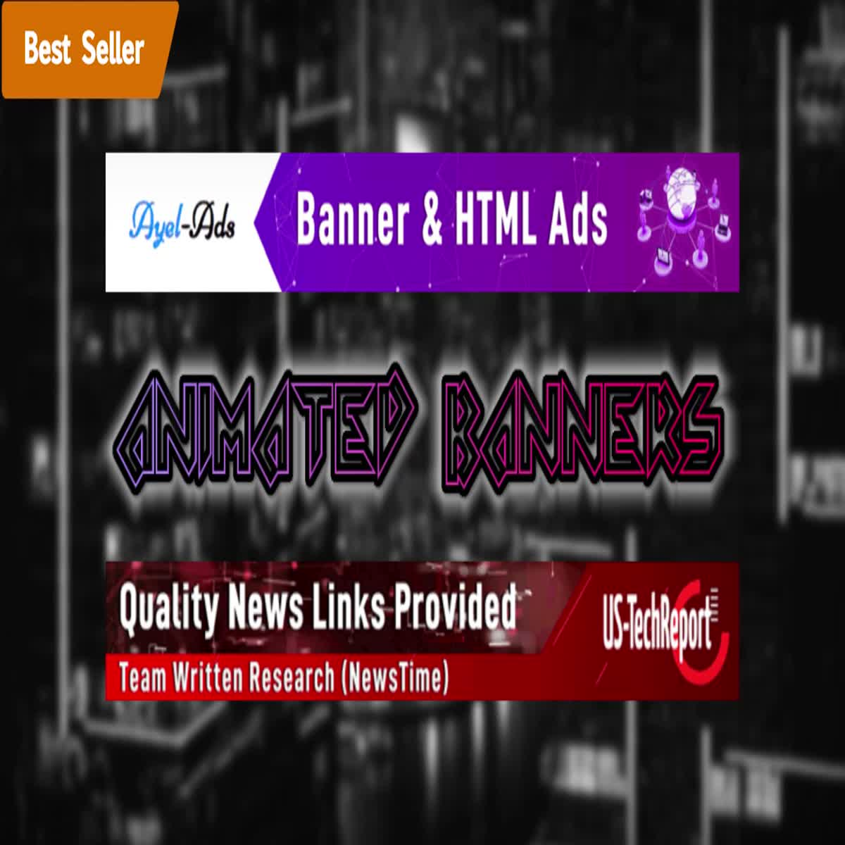 I will design eye catching animated HTML5 / Gif BANNER ADS for Google ads or website advertising.