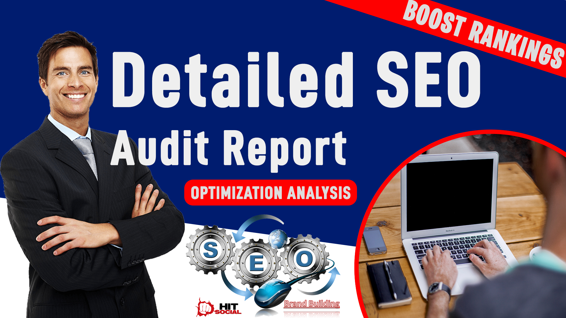 I Will Do a Detailed SEO Report. Outlining all SEO Issues To Help You Better Optimize Your Site.