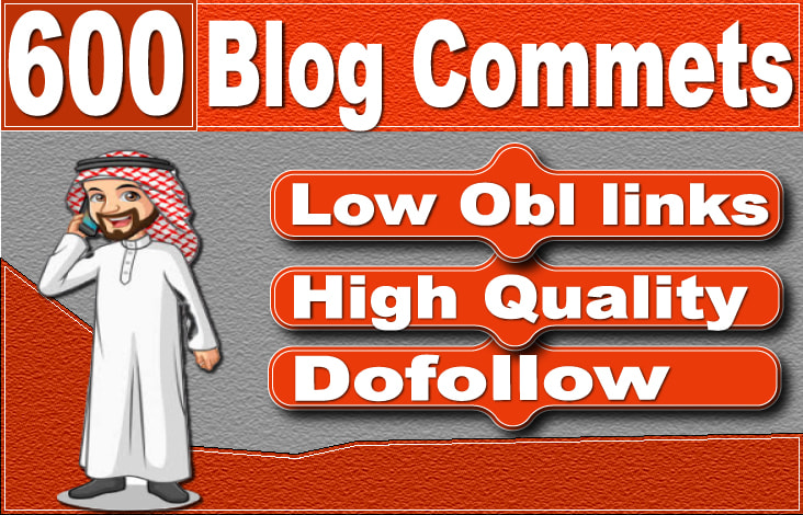 I will create 600 blog comments dofollow seo backlinks on authority sites