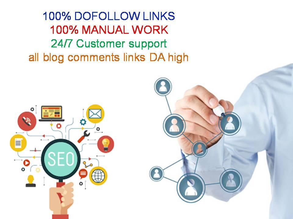 I will do 100 unique domain dofollow backlinks on da100 sites