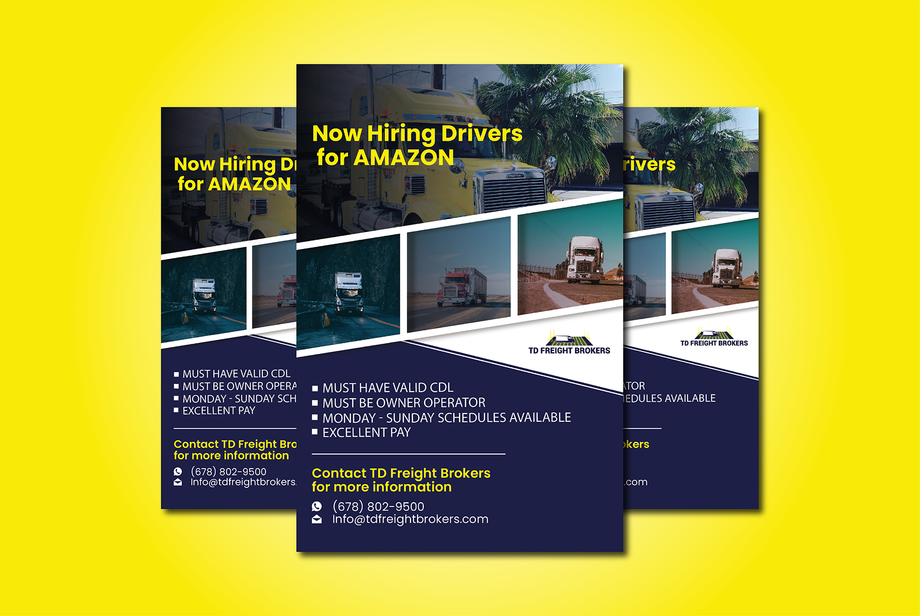 I will create an amazing flyer for you