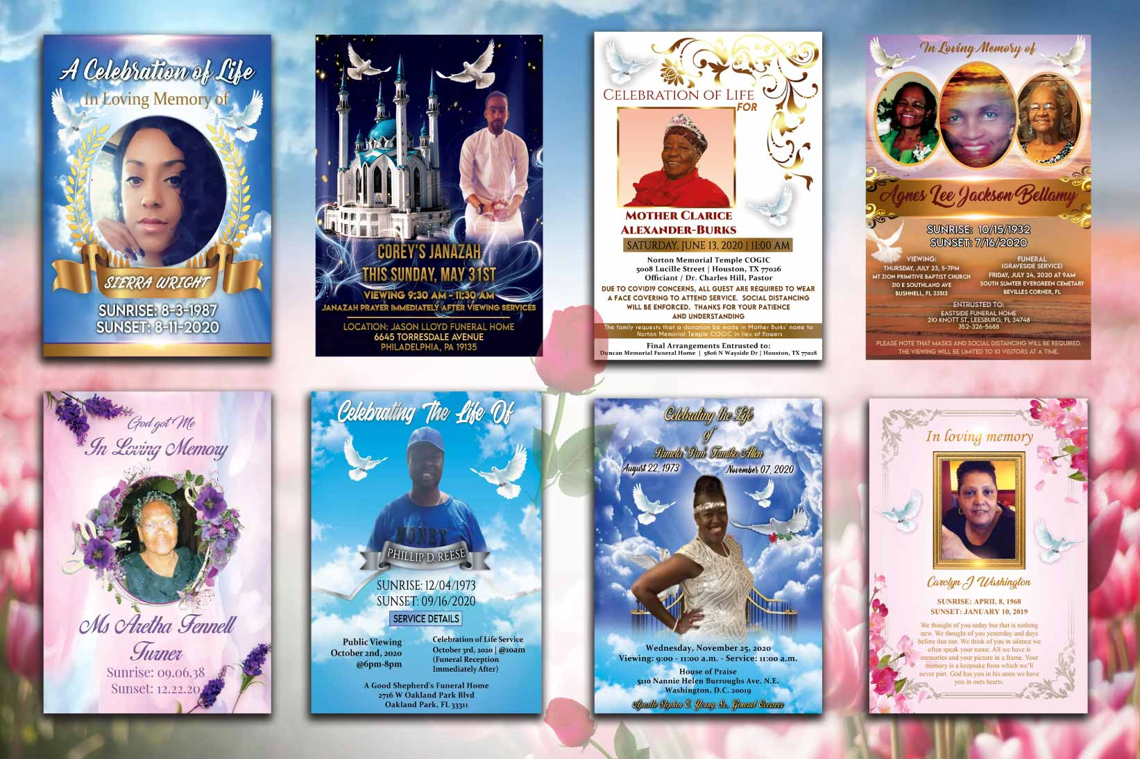 I will design eye catching event flyer or poster