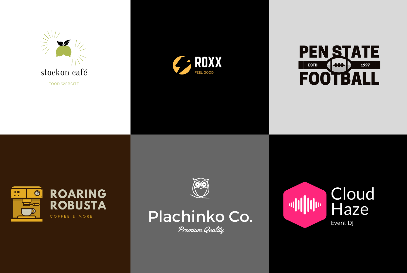 I will design 3 creative unique logos for your brand