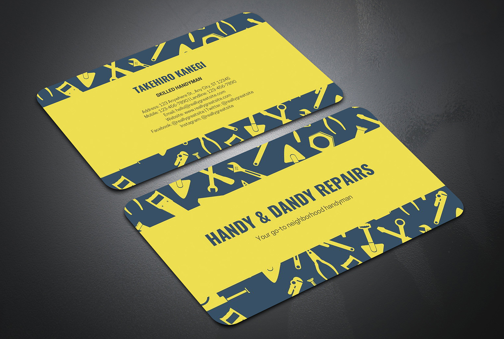 I will design a modern business card for you