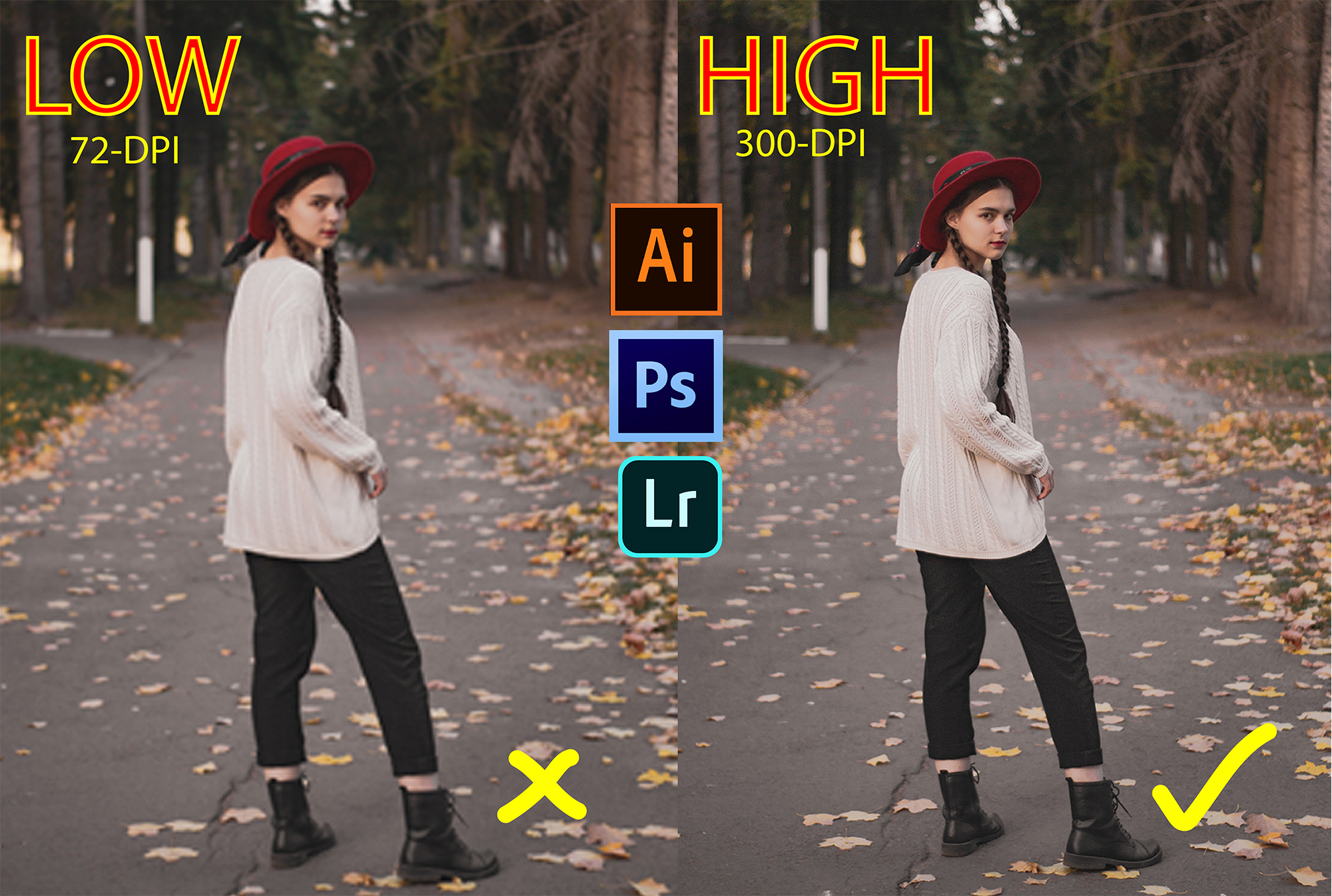 Convert low resolution image to high resolution