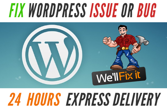 Fix Wordpress Issues and Wordpress Customization