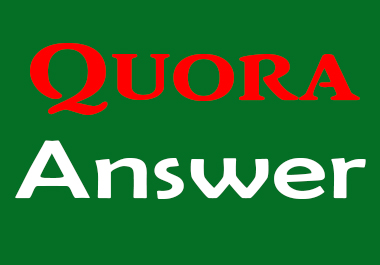 Promote your website 05 HQ Quora Answer & upvotes