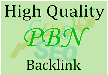 Build 20 PBN Backlinks All Dofollow High Quality Backlinks