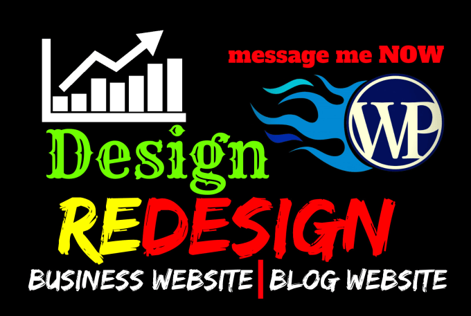 I will redesign wordpress website,  modern wordpress website design