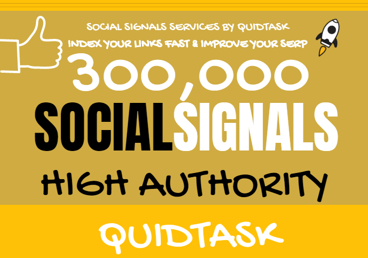 Get 300,000 Social Signals for SEO and Traffic Boost - High Authority Pages and Established Audience