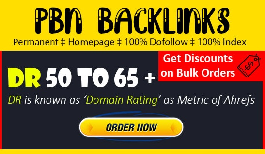Creat 75 Manual HIGH Quality DR 50 to 65+ PBN Backlinks