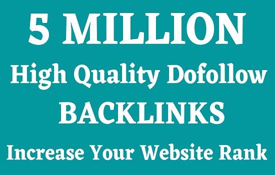 5 million GSA backlinks blog comments,  youtube videos,  websites for quick ranking