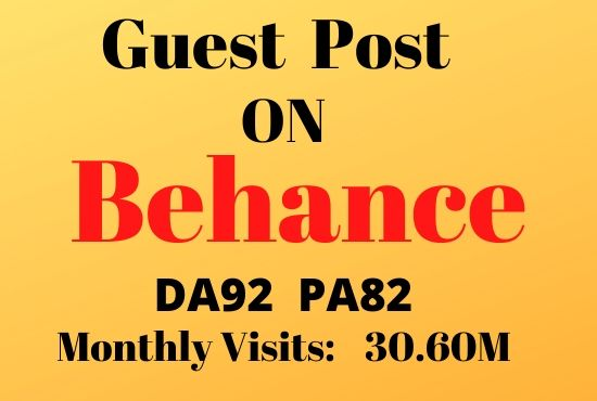 write and publish a guest post on behance DA93 Design blog