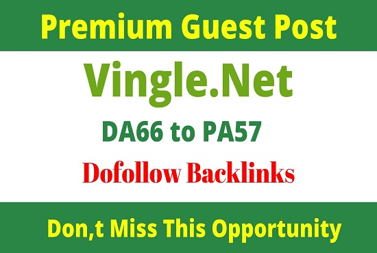 Publish Guest Post On Vingle. net
