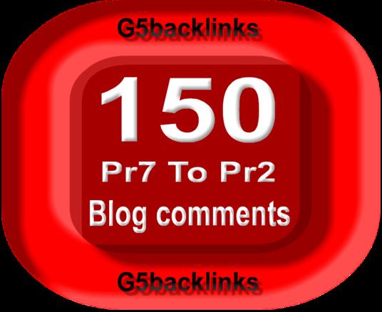 150 Blog Commenting Dofollow Backlinks High Low Obl DA PA google Rank Website Traffic