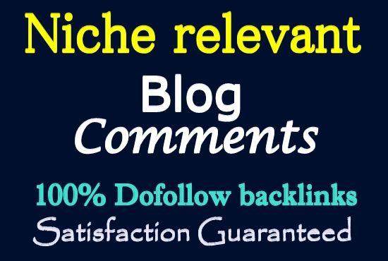 150 Niche Relevant Blog Comment Backlinks High Moz Autority