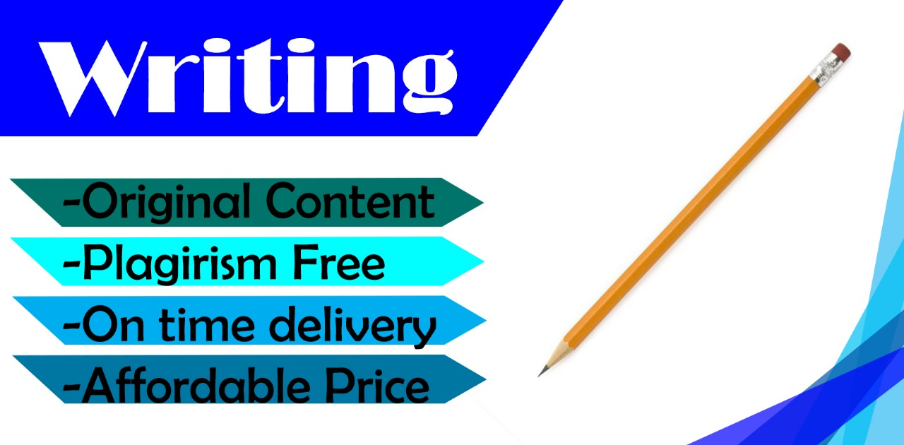 Write SEO friendly content,  articles and blogs
