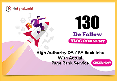 I Will Do 130 Blog Comment SEO backlinks
