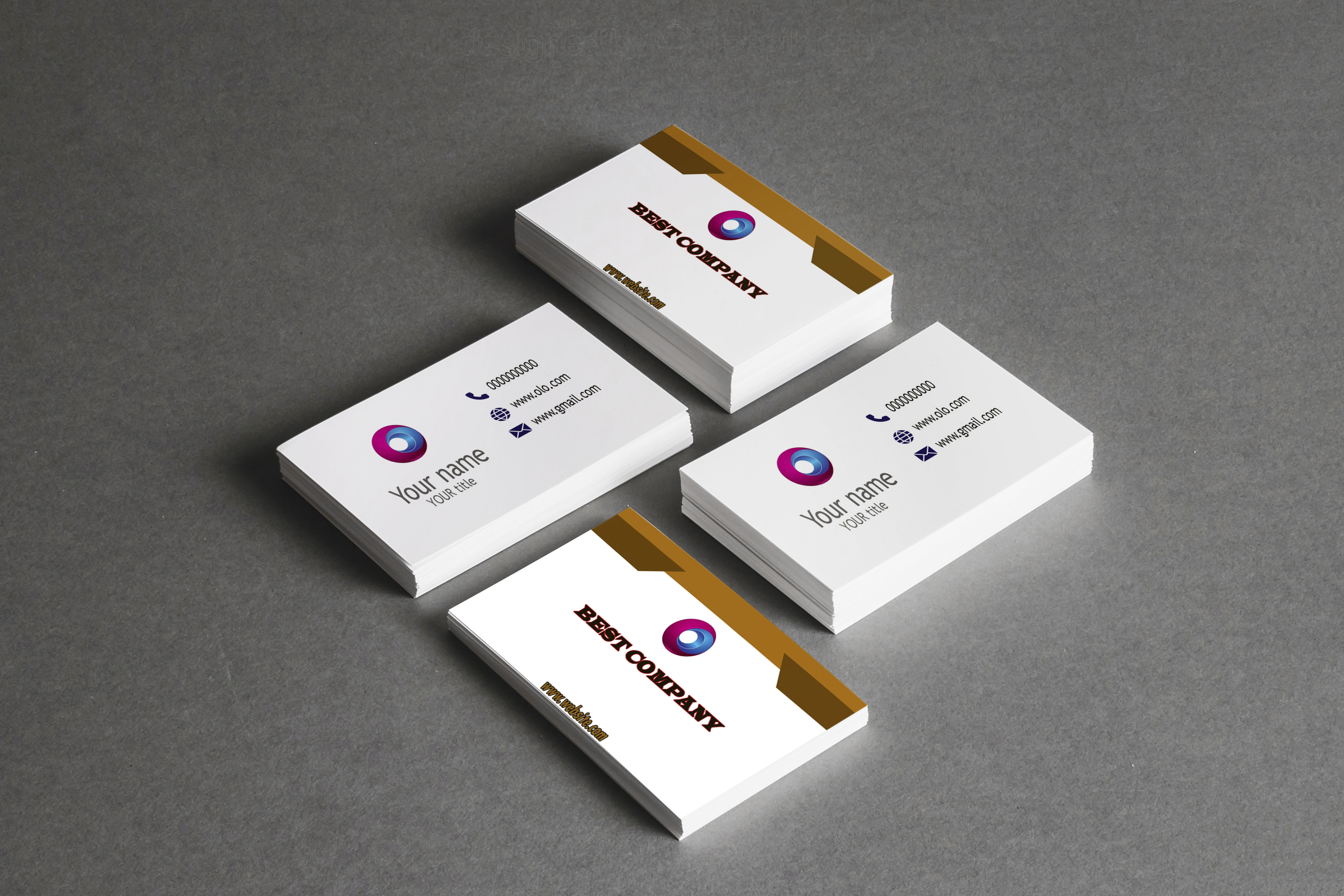 create awesome business card design