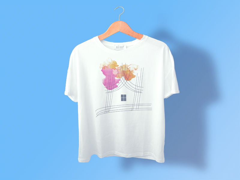 I will design minimalist T-shirt design