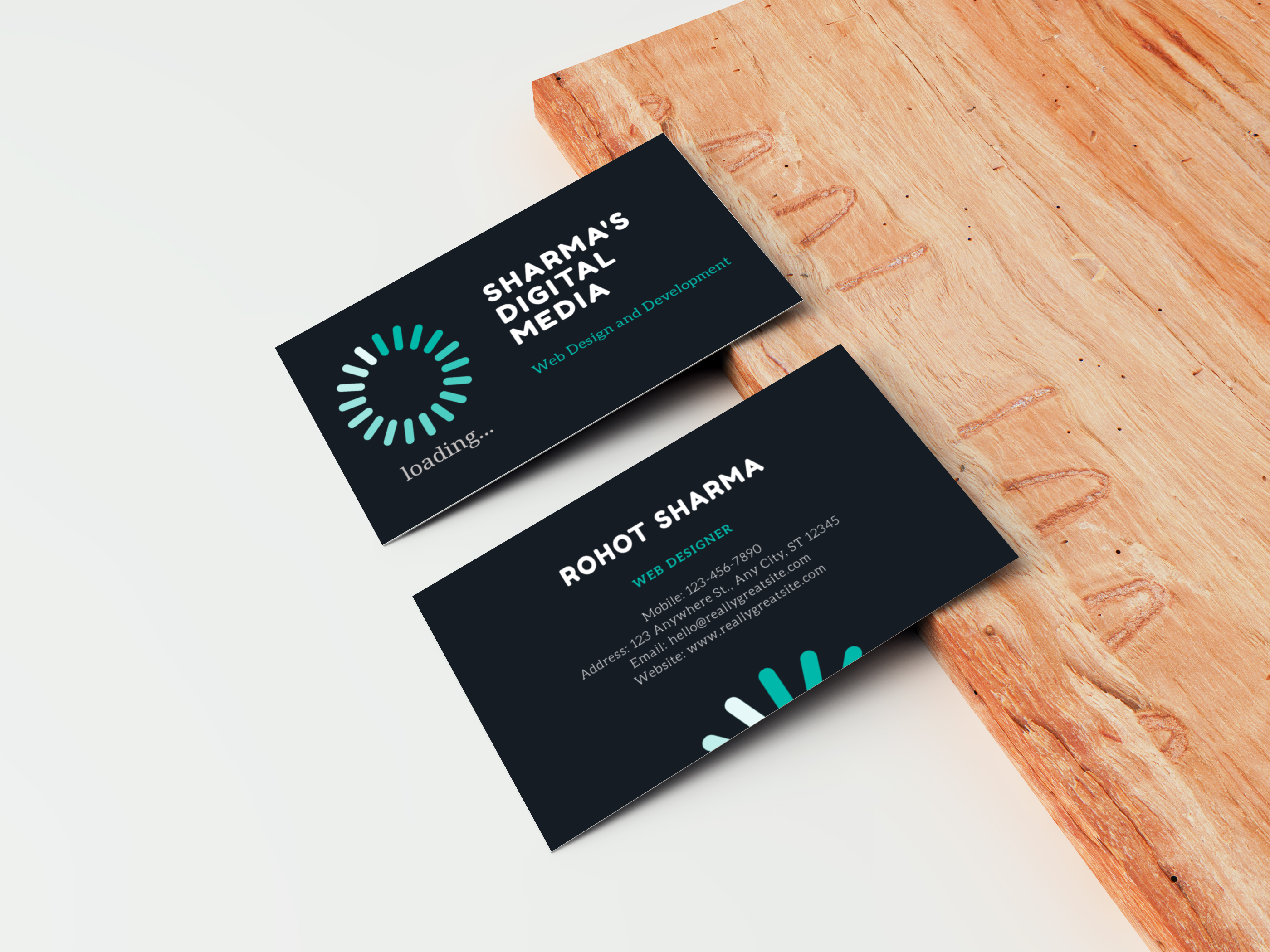 Here you will get creative and unique Business Card design.
