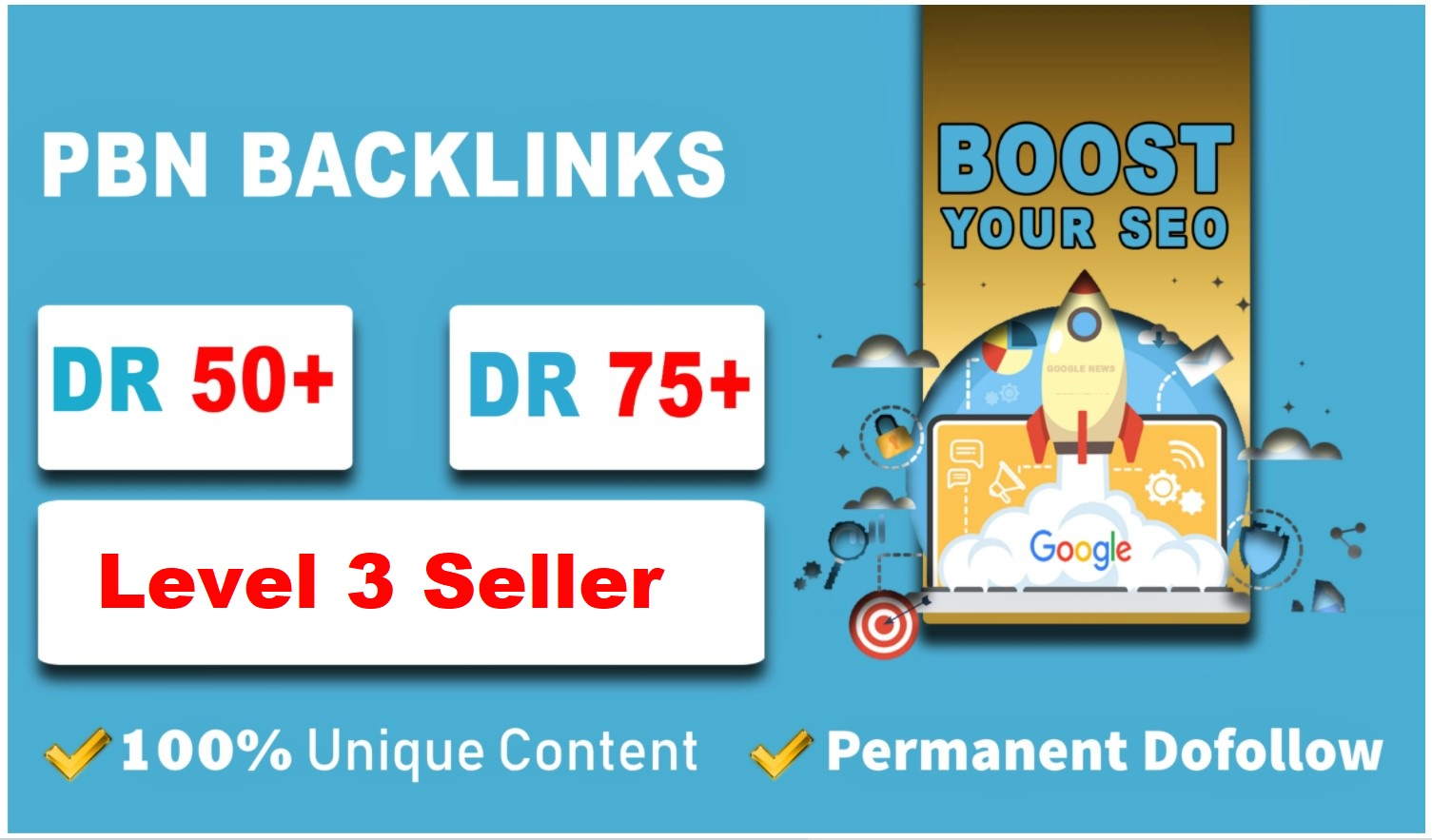 Provide you 10 PBN links from DR 50+