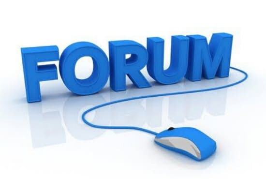 I will give you 50,000 high authority forum post