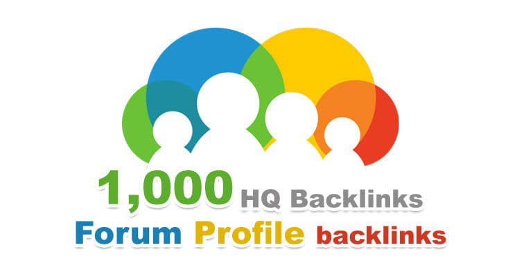 Get 1000 Forum profile Backlinks