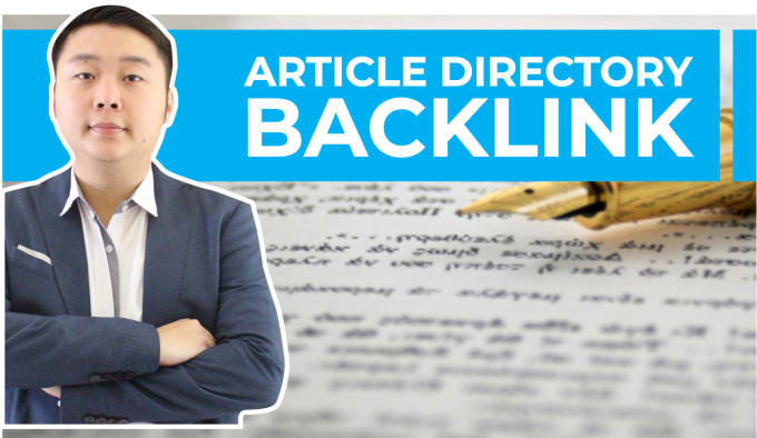 I will do 500 article directories contextual backlinks