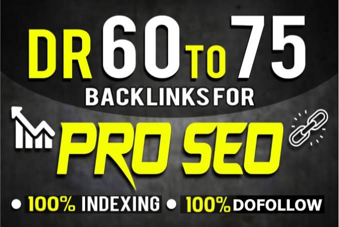 Build 40 High Authority PBN DR 70 Plus Domain Unique Permanent Dofollow Backlinks