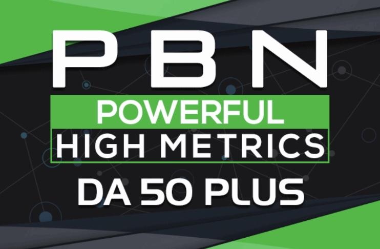 Provide 10 PBN Post Guaranteed Da 50 plus Unique Backlinks