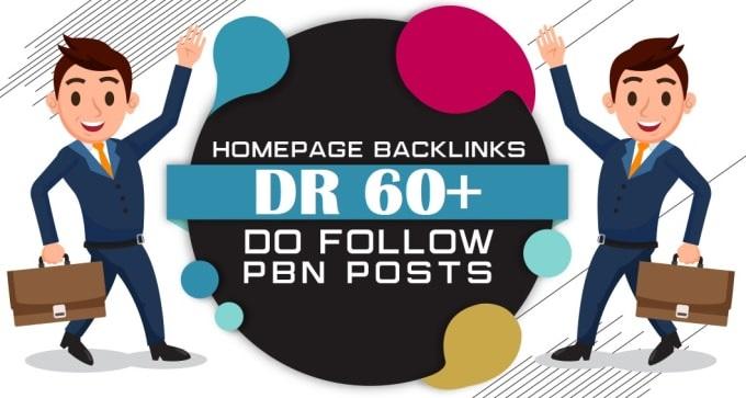 build 20 DR 60+ unique homepage pbn Permanent dofollow backlinks