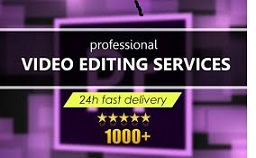 I Will do fast video editing use after effects