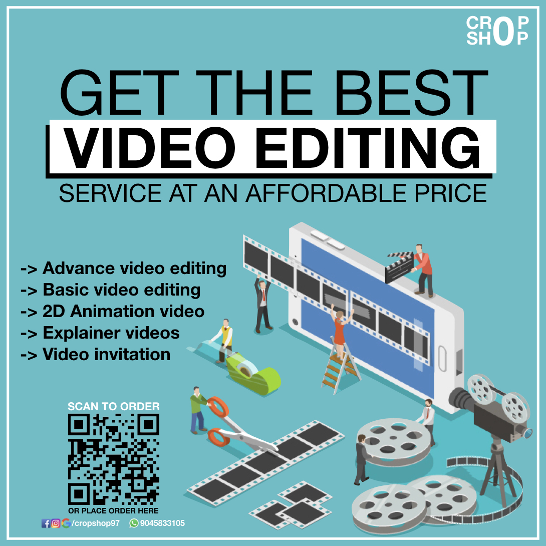 Best video editing service at affordable price