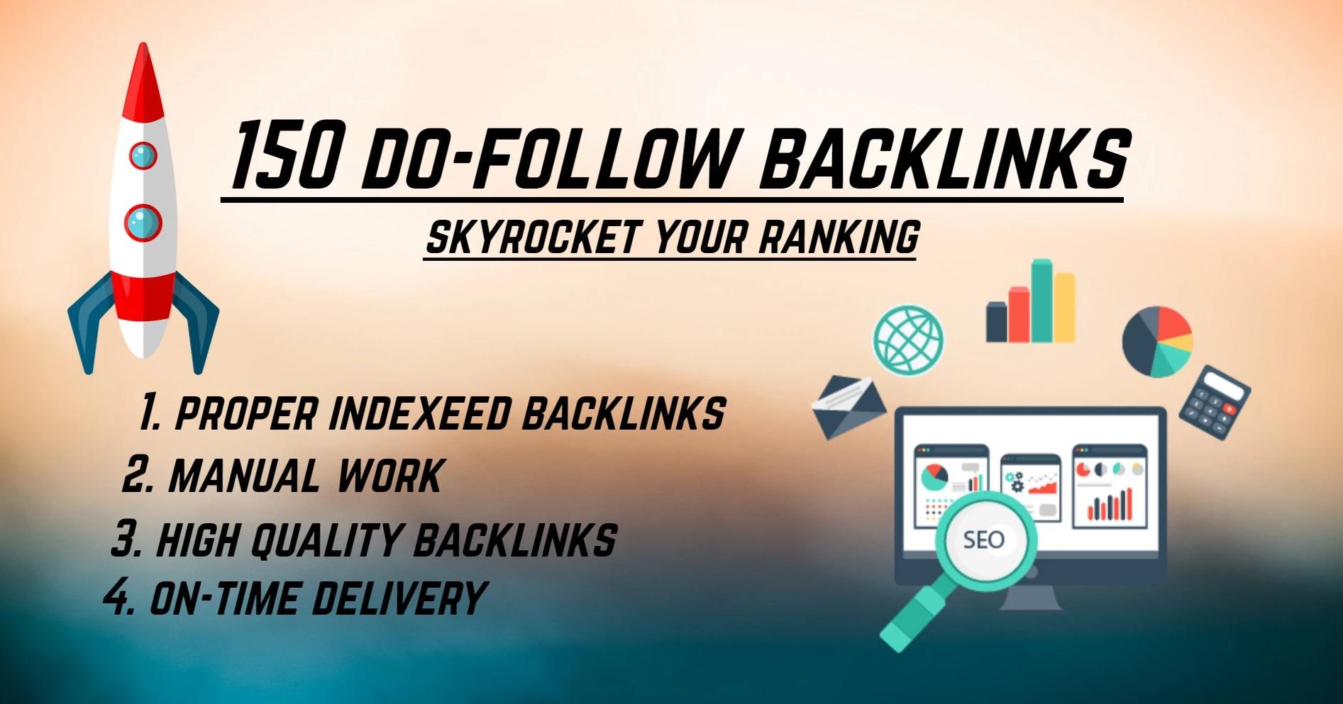 I will build 150 unique domain do follow blog comments