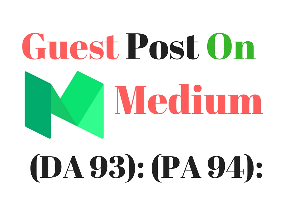 Post a 500 words article on Medium. com with 2 backlinks,  article is inlcuded