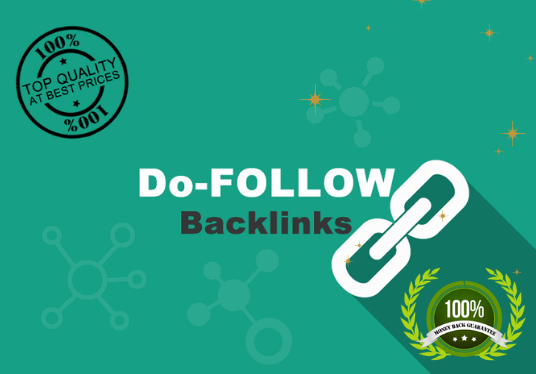 Do 100,000 active do follow backlinks for SEO